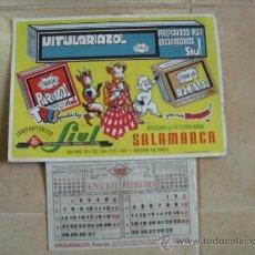 Coleccionismo Calendarios: ALMANAQUE PARA 1952 ESTA NUEVO. Lote 25627071