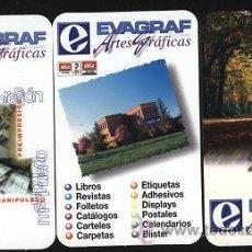 Coleccionismo Calendarios: LOTE 3 CALENDARIOS PUBLICITARIOS 2002 . Lote 16957486