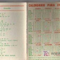Coleccionismo Calendarios: CALENDARIO 1961 - LISTA SANITARIA DE MANRESA -FARMACIA FERRER . Lote 22505633