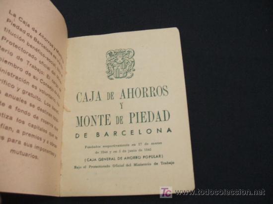311ab73ff52e Coleccionismo Calendarios  ALMANAQUE 1.952 CAJA DE AHORROS Y MONTE DE PIEDAD  DE BARCELONA - Foto