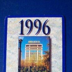 Coleccionismo Calendarios: FOURNIER 1996 - SANTA LUCIA. Lote 17539291