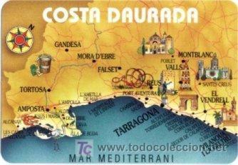 Calendario 1999 Mapa Costa Daurada Dorada P Sold Through