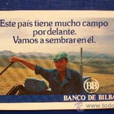 Coleccionismo Calendarios: FOURNIER 1982 - BANCO DE BILBAO. Lote 17897481