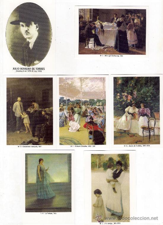 -58627 50 CALENDARIOS PINTURAS JULIO ROMERO DE TORRES, AÑO 2011, ACABADAS EN BRILLO (Coleccionismo - Calendarios)