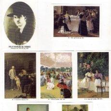 -58627 50 CALENDARIOS PINTURAS JULIO ROMERO DE TORRES, AÑO 2011, ACABADAS EN BRILLO