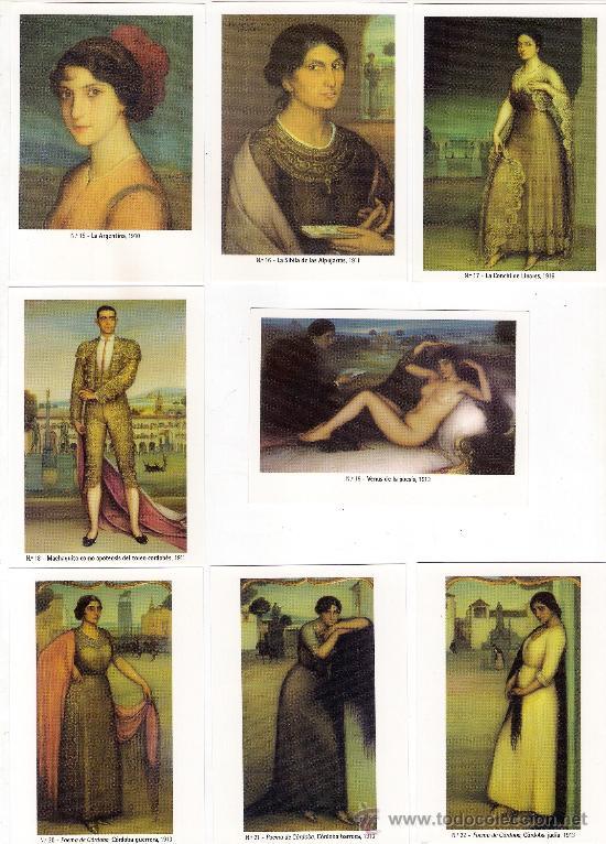 Coleccionismo Calendarios: -58627 50 CALENDARIOS PINTURAS JULIO ROMERO DE TORRES, AÑO 2011, ACABADAS EN BRILLO - Foto 3 - 46001541