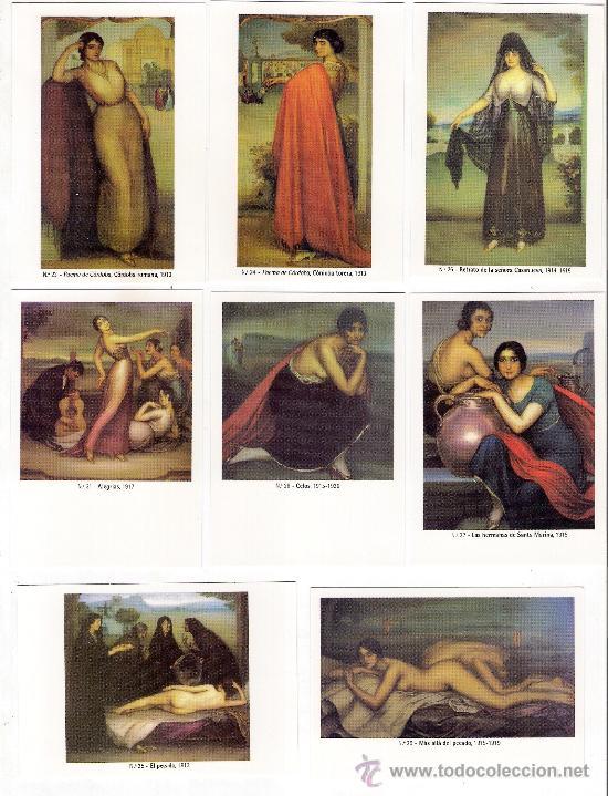 Coleccionismo Calendarios: -58627 50 CALENDARIOS PINTURAS JULIO ROMERO DE TORRES, AÑO 2011, ACABADAS EN BRILLO - Foto 4 - 46001541