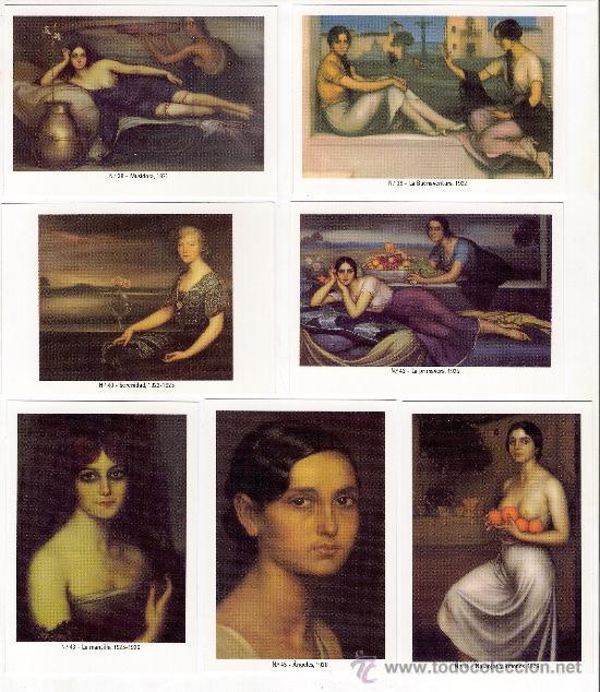 Coleccionismo Calendarios: -58627 50 CALENDARIOS PINTURAS JULIO ROMERO DE TORRES, AÑO 2011, ACABADAS EN BRILLO - Foto 6 - 46001541