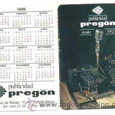 Coleccionismo Calendarios: CALENDARIO PREGON PUBLICIDAD 1990. Lote 218247498