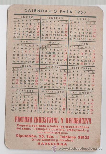 Calendario 1950.Calendario 1950 Ikbenalles