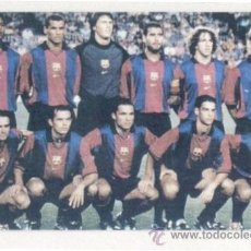 Coleccionismo Calendarios: CALENDARIO 2001. PEÑA BARCELONISTA UNION BARÇA DE IRUN. FC BARCELONA. FUTBOL. . Lote 25315540