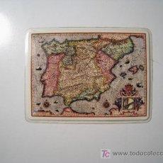 Coleccionismo Calendarios: CALENDARIO 1968 - ILUSTRADO CON MAPA GEOGRAFICO ESPAÑA SIGLO XVI. Lote 18624133