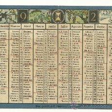 Coleccionismo Calendarios: AÑO 1923. CALENDARIO ESPAÑOL DE LYSOFORM. FARMACIA. AÑO 1923!!!. Lote 30890225