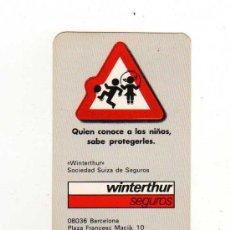 Coleccionismo Calendarios: CALENDARIO 1987 - SEGUROS WINTERTHUR. Lote 18889472