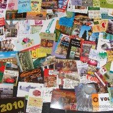 Coleccionismo Calendarios: OFERTA LOTE. MÁS 5000 CALENDARIOS DE BOLSILLO. TODOS DISTINTOS. PUBLICITARIOS, SERIES, FÚTBOL.. Lote 29812260
