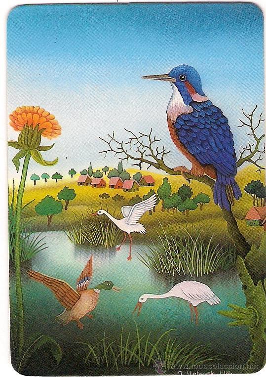 32348 Calendario Pintura Pajaros En Naturaleza Comprar