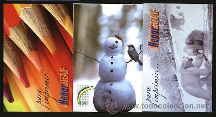 LOTE 3 CALENDARIO PUBLICITARIOS 2010 (Coleccionismo - Calendarios)