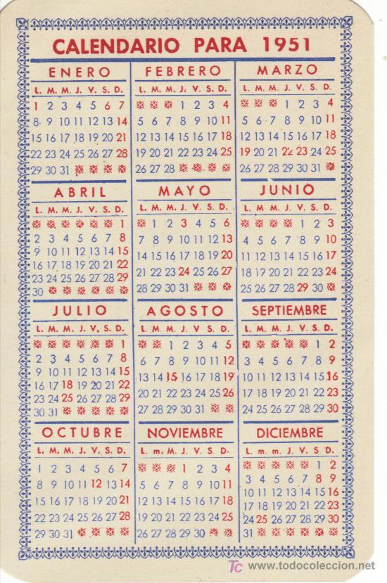 Calendario 1951.Calendario 1951 Sold Through Direct Sale 20770464