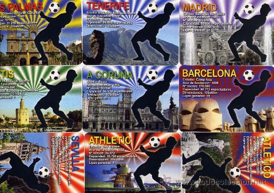 54 CALENDARIOS DE FUTBOL. TODOS LOS DE SERIE DEL AÑO 2011 (MÁS IMÁGENES EN EL INTERIOR) (Coleccionismo - Calendarios)