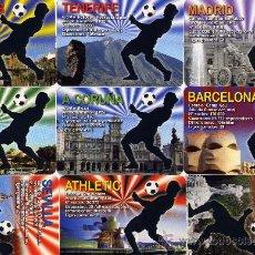 Coleccionismo Calendarios: 54 CALENDARIOS DE FUTBOL. TODOS LOS DE SERIE DEL AÑO 2011 (MÁS IMÁGENES EN EL INTERIOR). Lote 26816173