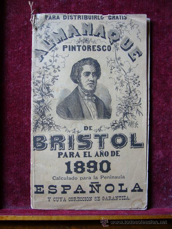 Almanaque Pintoresco De Bristol 1890 Comprar Calendarios