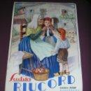Coleccionismo Calendarios: XOCOLATES RIUCORD --- BARCELONA *AÑO 1937* -EN CATALAN-. Lote 19958630