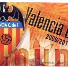 Coleccionismo Calendarios: CALENDARIO 2010. VALENCIA CF. FUTBOL.. Lote 20083506