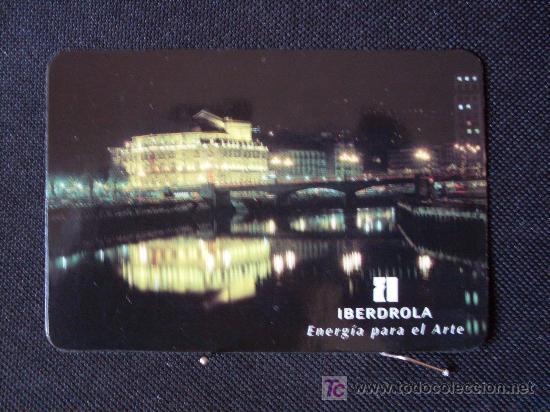 CALENDARIO DE BOLSILLO AÑO 1996 IBERDROLA () (Coleccionismo - Calendarios)