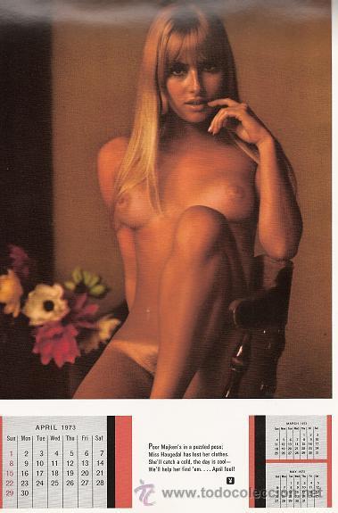 Calendario Play Boy.Calendario Playmate De Playboy 1973 Sold Through Direct