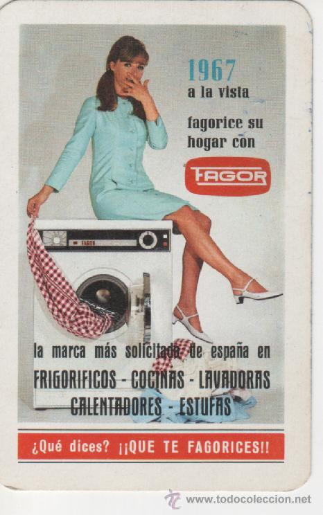 CALENDARIO FOURNIER 1967 - *FAGORICE SU HOGAR CON FAGOR* (Coleccionismo - Calendarios)