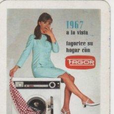 Coleccionismo Calendarios: CALENDARIO FOURNIER 1967 - *FAGORICE SU HOGAR CON FAGOR*. Lote 26869406