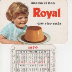 Coleccionismo Calendarios: CALENDARIO 1970 - FLAN ROYAL - INDUSTRIAS RIERA MARSA S.A.- . Lote 37415089