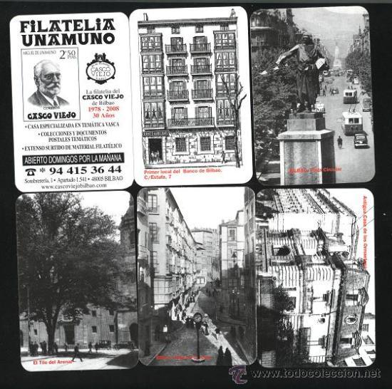 LOTE 6 CALENDARIOS - FILATELIA UNAMUNO 2009 (Coleccionismo - Calendarios)