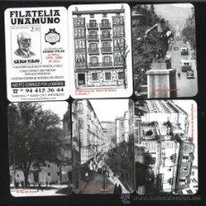 Coleccionismo Calendarios: LOTE 6 CALENDARIOS - FILATELIA UNAMUNO 2009. Lote 26245572