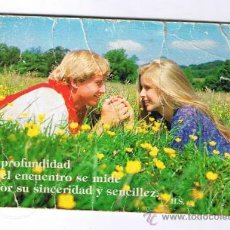 Coleccionismo Calendarios: CALENDARIO DE BOLSILLO 1989 - REVERSO SAN PABLO FILMS BILBAO. Lote 26613987