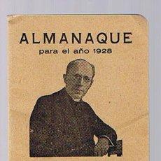 Coleccionismo Calendarios: ALMANAQUE PARA EL AÑO 1928. OBSEQUIO DE L.HEUMAN Y CIA. A SUS CLIENTES. FARMACIA TORRES - MADRID.. Lote 21521501