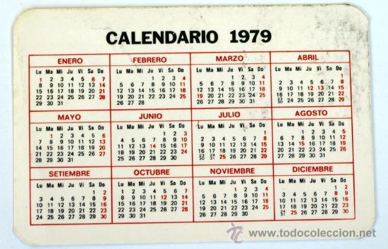 Calendario Del 1979.Calendario Ano 1979 Televisores Color Thomson