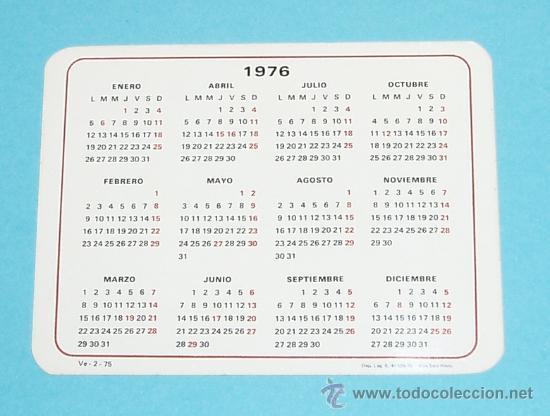 Calendario 1976.Calendario 1976 Veganin Sold Through Direct Sale 21836011