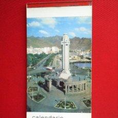 Coleccionismo Calendarios: 12 POSTALES ISLAS CANARIAS , TENERIFE , LAS PALMAS ETC -CALENDARIO 1966. Lote 21850544