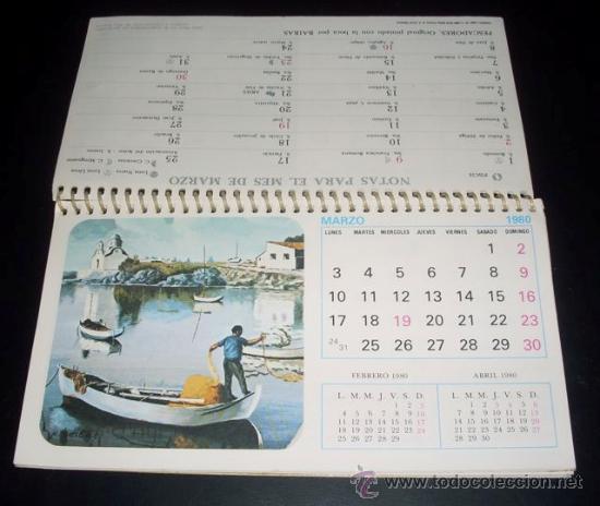 Calendario Artistico.Calendario Artistico 1980 Artis Muti Sold Through Direct