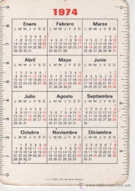 Calendario 1974.Calendario 1974 Agosto Ikbenalles