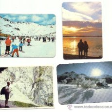 Coleccionismo Calendarios: CALENDARIOS 4 VARIADOS,PAISAJES,1985,1985,1976 Y 1976. Lote 26855337