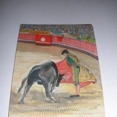 Coleccionismo Calendarios: CALENDARIO PORTUGAL 2002 - DIBUJO/PINTURA - TEMA TOROS. Lote 23322689