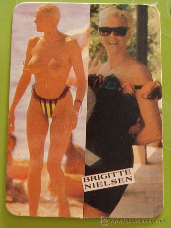 CALENDARIO DE DESNUDOS. AÑO 1990. BRIGITTE NIELSEN. ACTRIZ DE HOLLYWOOD. SILVESTER STALLONE. (Coleccionismo - Calendarios)