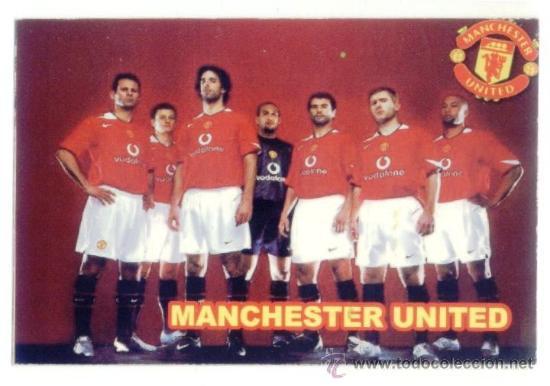 Manchester United Calendario.Calendario Ruso 2007 Futbol Equipo Manchester United Inglaterra