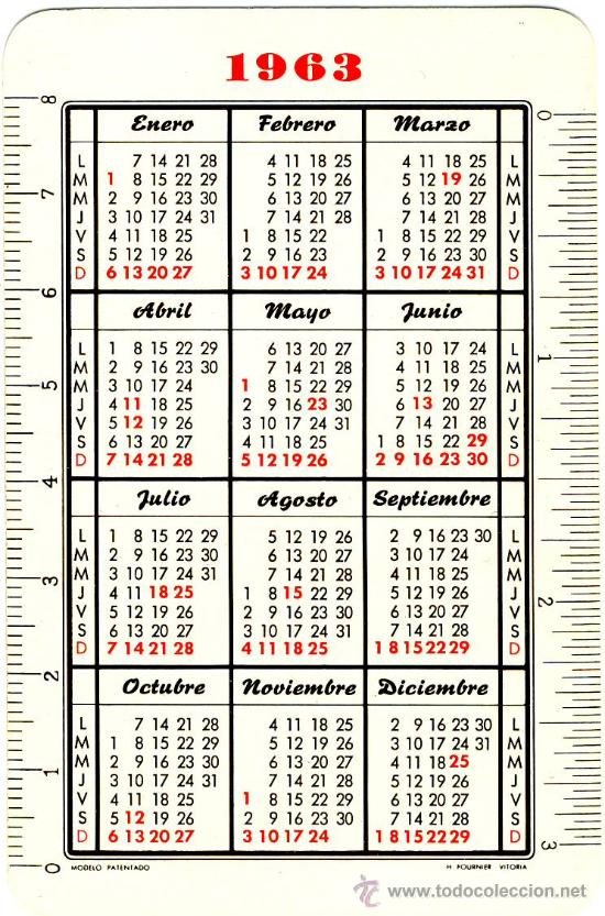 Calendario 1963.Calendario 1963 Divino Nino Jesus 1 Sold At Auction 24269609