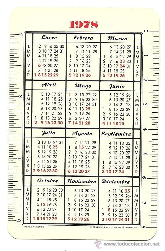 Calendario 1978.Calendario 1978 Fournier V Respaldiza Mussorgsky