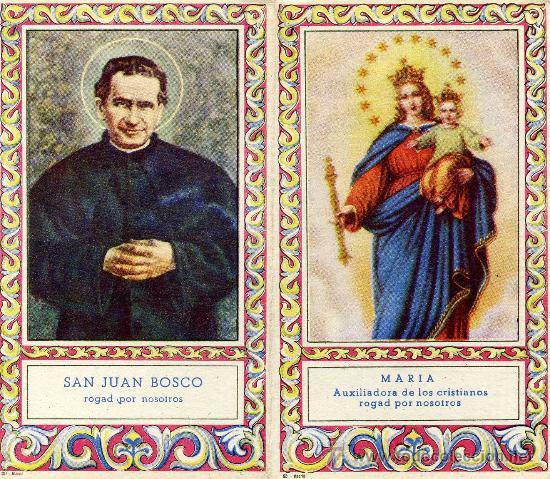 Calendario Boschi.Calendario De Bolsillo 1953 San Juan Bosco Vi Sold