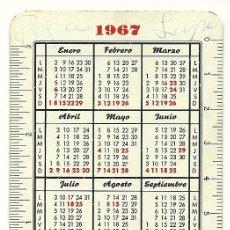 Coleccionismo Calendarios: CALENDARIO FOURNIER DEL BANCO ZARAGOZANO. AÑOS 1967-68. HF3.. Lote 27459647