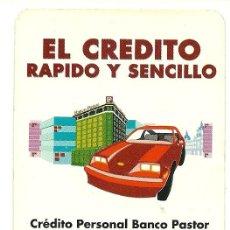 Coleccionismo Calendarios: CALENDARIO FOURNIER DEL BANCO PASTOR. AÑO 1992 (HF3).. Lote 27522157